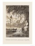 Hindoo Devotees Prints by Baron De Montalemert