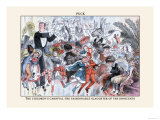 Puck Magazine: The Children&#39;s Carnival Prints by F. Graetz