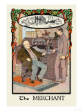 The Merchant Affiches par H.o. Kennedy