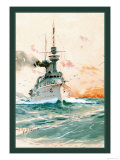U.S. Navy: Determination Print by Willy Stower