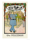 The Policeman Print by H.o. Kennedy