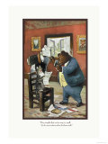 Teddy Roosevelt&#39;s Bears: That Cat Print by R.k. Culver