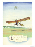 The Grade Monoplane, 1909 Prints by Charles H. Hubbell