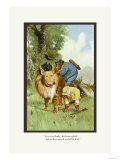 Teddy Roosevelt&#39;s Bears: Get on My Back Posters by R.k. Culver