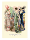 Graceful Evening and Dinner Gowns Posters