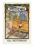 The Motorman Posters by H.o. Kennedy