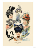 Spring Millinery Posters