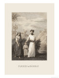 Parsees at Bombay Prints by Baron De Montalemert