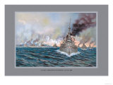 Naval Battle of Santiago Prints by  Werner