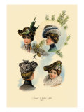 Smart Winter Hats Prints