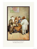 Teddy Roosevelt&#39;s Bears: Teddy B and Teddy G at a Custom House Prints by R.k. Culver