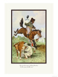 Teddy Roosevelt's Bears: Teddy B and Teddy G on the Farm Posters by R.k. Culver
