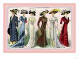 L'Art de la Mode: A Variety of Beautiful Fashions Posters