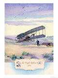 The Wright Biplane, 1903 Posters by Charles H. Hubbell