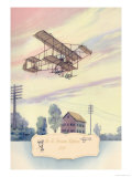 The H. Farman Plane, 1910 Prints by Charles H. Hubbell
