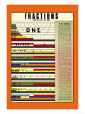 Fractions Prints