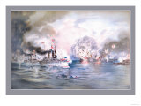 Naval Battle, Manila Prints by  Werner