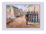 U.S. Navy: Firing Squad Prints by  Werner
