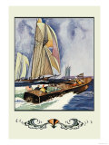Cruisers and Sailboats Posters by Winslow Homer