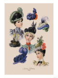 Spring Millinery Prints