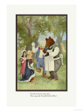 Teddy Roosevelt&#39;s Bears: The Cloak Print by R.k. Culver
