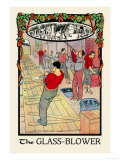 The Glass-Blower Print by H.o. Kennedy