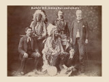 Buffalo Bill, Sitting Bull, and Others Prints