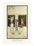 Teddy Roosevelt&#39;s Bears: Teddy B and Teddy G in a Russian Jail Prints by R.k. Culver