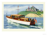 Mathews 46' Enclosed Bridge Deck Cruiser Prints by Douglas Donald