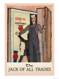 The Jack of All Trades Affiches par H.o. Kennedy