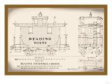 Reading Four-Wheel Caboose Prints