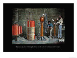 Machinery for Filling Bottles with Artificial Mineral Waters Fotografa por John Howard Appleton