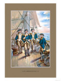 Navy Commander Prints by  Werner