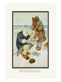 Teddy Roosevelt's Bears: Teddy B and Teddy G Are Seasick Prints by R.k. Culver