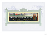 Manor House Coffee Posters