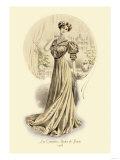 Le Grandes Modes de Paris: Golden Gown Posters