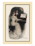 Love Song Prints by Clarence F. Underwood