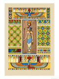 Egyptian Ornamental Patterns Posters by J. Gardner Wilkinson