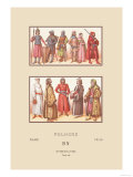 Knights and Nobility of Fifteenth Century Poland Prints by  Racinet