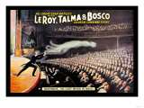 Leroy, Talma and Bosco Poster