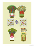 Capitals of Columns Prints by J. Gardner Wilkinson