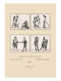 Popular Styles of Eighteenth Century France Prints by  Racinet