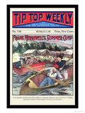 Tip Top Weekly: Frank Merriwell's Summer Camp Poster by Burt L. Standish