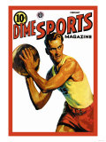Dime Sports Magazine: Basketball Art