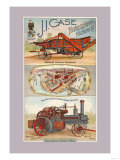 J.I. Case Threshing Machine Co., Racine, Wisconsin Poster