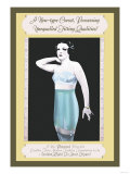 New-Type Corset Possessing Unequalled Fitting Qualities Posters
