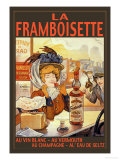 La Framboisette Posters by Francisco Tamagno