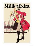 Muller Extra Posters by Hans Rudi Erdt