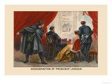 Assassination of President Lincoln Premium Giclee Print by Harriet Putnam