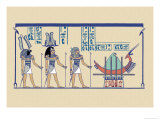 Ptah, Sekar and Osris Poster by J. Gardner Wilkinson